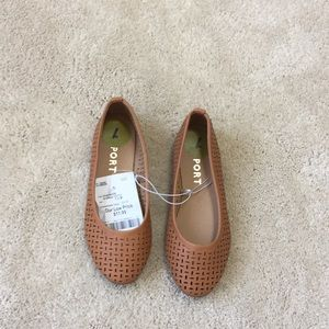 Other - Girls tan flats